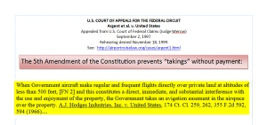 Constitutional Protection Under the 5th Ammndment